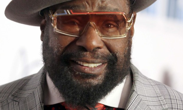 Funk royalty George Clinton of Parliament/Funkadelic is 75. (Getty Images: Isaac Brekken)