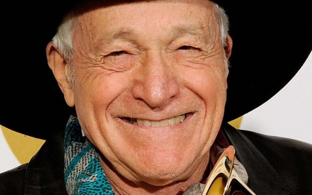 Folk singer Ramblin' Jack Elliott is 85. (Getty Images: Kevork Djansezian)