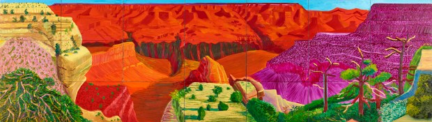 """David Hockney, """"The Grand Canyon"""" (1998) Image: Paul G. Allen Family Collection"""