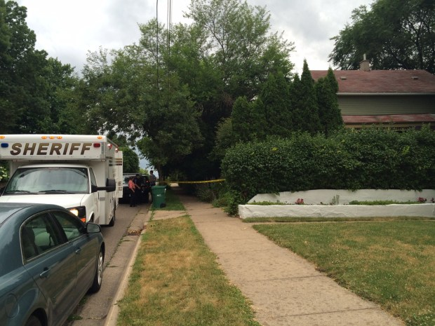 A 60-year-old man was fatally stabbed on the 400 block of Mulberry Street in Stillwater on Friday, July 8, 2016. (Pioneer Press: Kristi Belcamino)