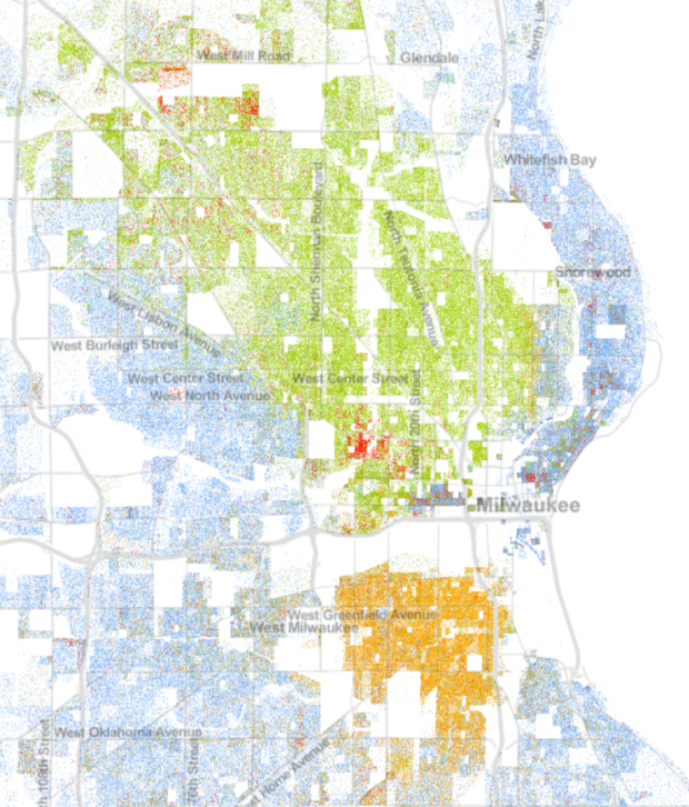 Heres A Map Of Every MinneapolisSt Paul Resident - Us census map by race