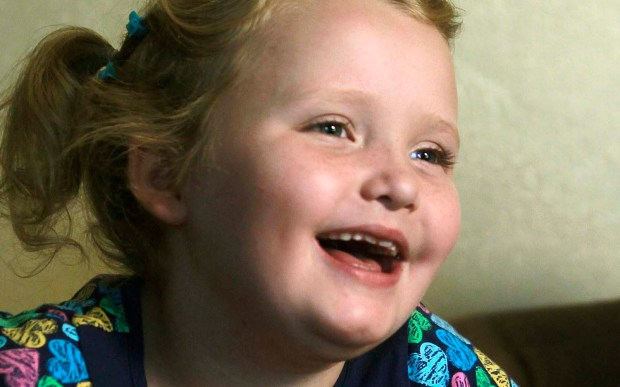 "Reality-TV star Alana ""Honey Boo Boo"" Thompson is 11. (Associated Press: John Bazemore)"