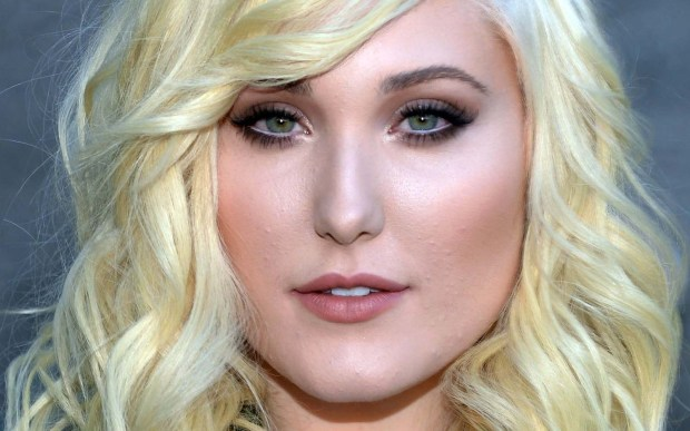 "Actress Hayley Hasselhoff of ""Huge"" is 24. And yeah, she's daughter of the Hoff. (Getty Images: Jason Kempin)"