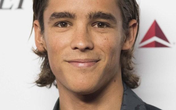 "Aussie actor Brenton Thwaites of ""Maleficent"" is 27. (Associated Press: Rob Latour)"