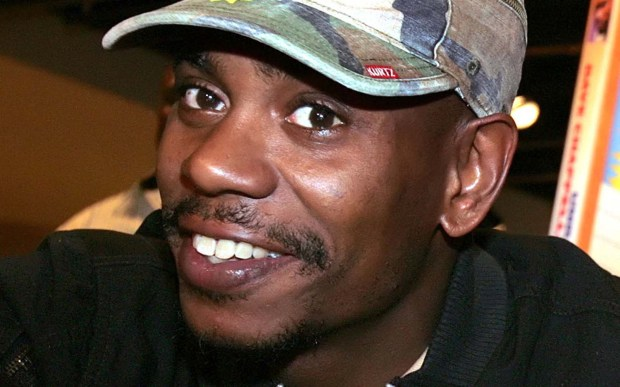 Actor-comedian Dave Chappelle is 43. (Associated Press: Stefano Paltera)