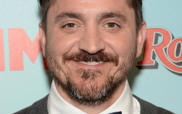 """Actor Ben Falcone — he's Mr. Melissa McCarthy, and appears with her in many roles, such as the U.S. air marshal in """"Bridesmaids"""" — is 43. (Getty Images: Jamie McCarthy)"""