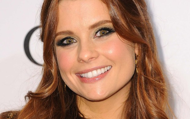 "Actress JoAnna Garcia Swisher of ""Reba"" and now ABC's ""The Astronaut Wives Club"" is 37. (Getty Images: Angela Weiss)"