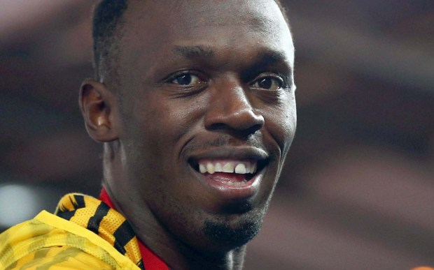 Jamaican sprinter Usain Bolt -- the fastest guy in the world -- is 30. (Getty Images: Cameron Spencer)
