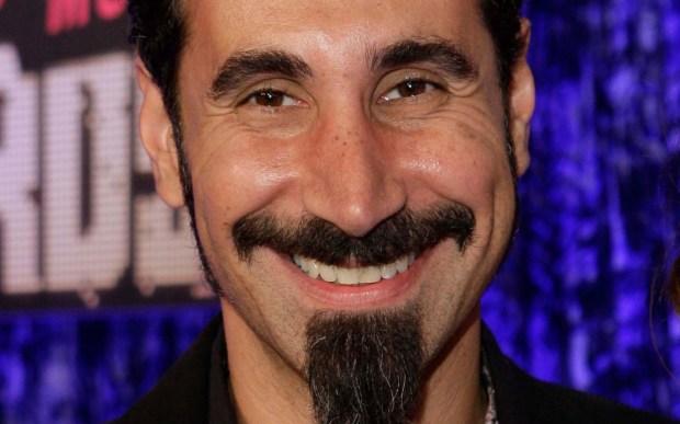 Singer Serj Tankian of System of a Down is 49. (Associated Press: Kevork Djansezian)