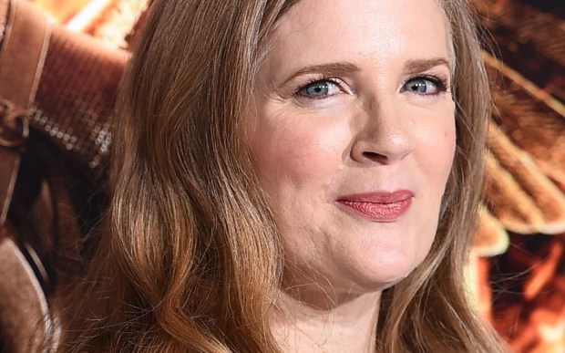 "Author Suzanne Collins, who wrote ""The Hunger Games"" trilogy is 54. (Associated Press: Jordan Strauss)"