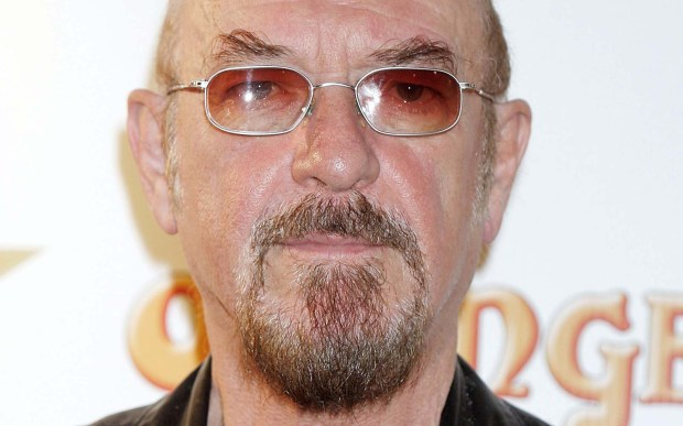 Rock flutist and singer Ian Anderson of Jethro Tull is 69. (Getty Images: Jo Hale)