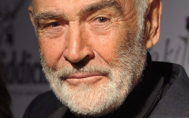 Bond. The real James Bond. Actor Sean Connery is 86. (Getty Images: Andrew H. Walker)