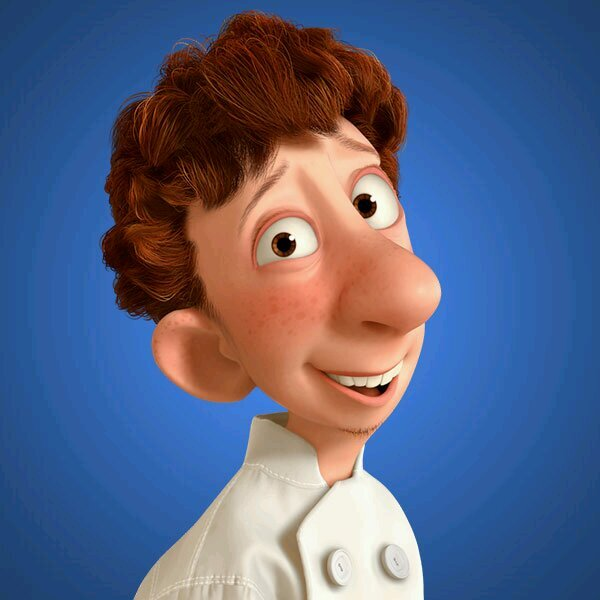 "Alfredo Linguini, from ""Ratatouille."" (Pixar Animation Studios)"