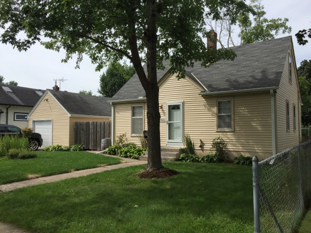 August 30, 2016 photo of a house where authorities found a hidden camera on August 14, 2016 in the bathroom while searching a house that Aric Babbitt and Matthew Deyo owned together at 1312 S. Fifth Ave. in South St. Paul. (Pioneer Press: Nick Ferraro)