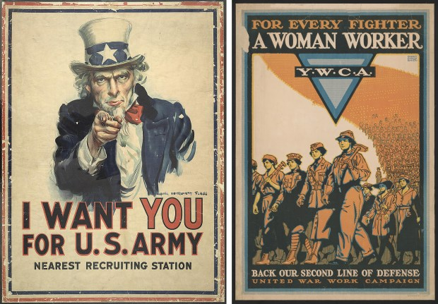 These World War 1 era posters will be part of the Minnesota Historical Society's new WWI exhibit, opening in April 2017. (Courtesy of the Minnesota Historical Society)