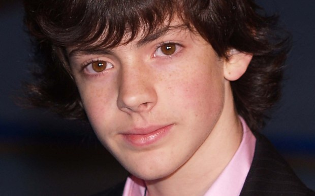 "Actor Skandar Keynes of ""The Chronicles of Narnia"" is 25. (Associated Press: Max Nash)"
