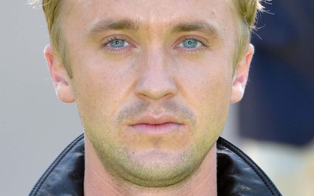 "Actor Tom Felton of the ""Harry Potter"" movies (he was bad Draco Malfoy) is 29. (Getty Images: Anthony Harvey)"