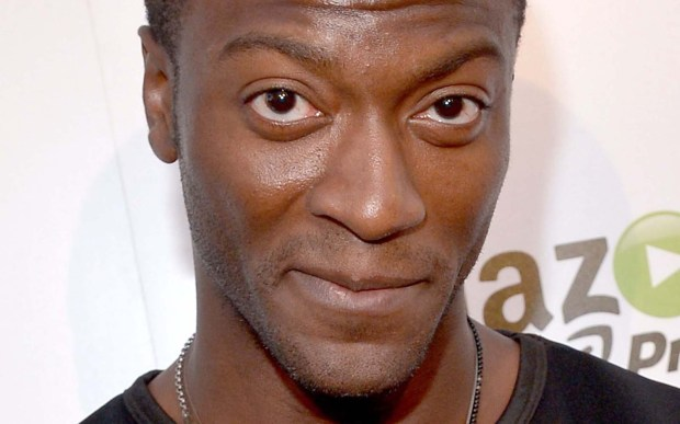 """Actor Aldis Hodge — who portrayed Alec Hardison, The Hacker, on TNT's """"Leverage"""" — is 30. Hodge also writes, paints and attends the Art Center College of Design in Pasadena, Calif., during work breaks. (Getty Images: Charley Gallay)"""