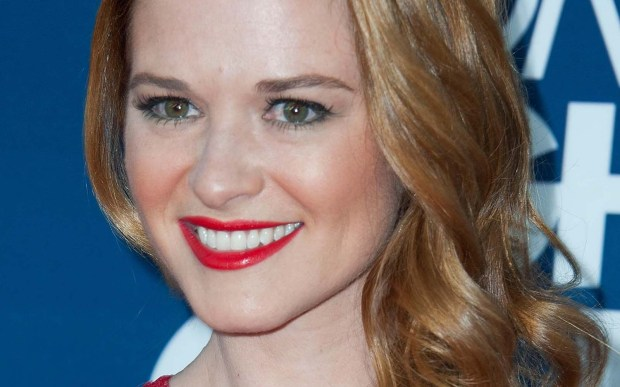 "Actress Sarah Drew of ""Grey's Anatomy"" and ""Everwood"" is 36. (Getty Images: Valerie Macon)"