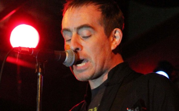 Musician Ted Leo is 46. He's shown playing with his band Ted Leo and the Pharmacists in 2010. (Getty Images: Cory Schwartz)