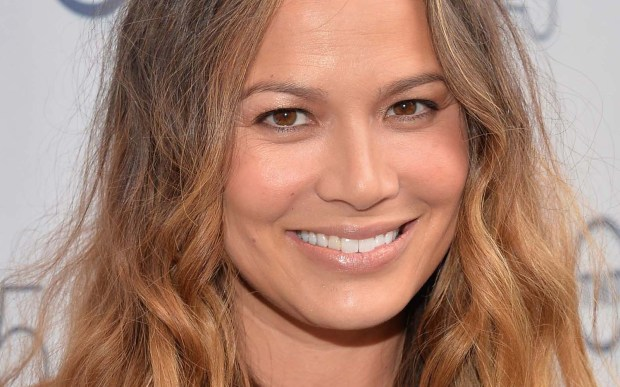 """Actress Moon Bloodgood of TV's """"Falling Skies"""" is 41. (Getty Images: Alberto E. Rodriguez)"""