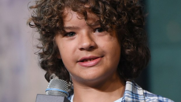 "Actor Gaten Matarazzo of the Netflix series ""Stranger Things"" is 14. (Evan Agostini/Invision/AP)"