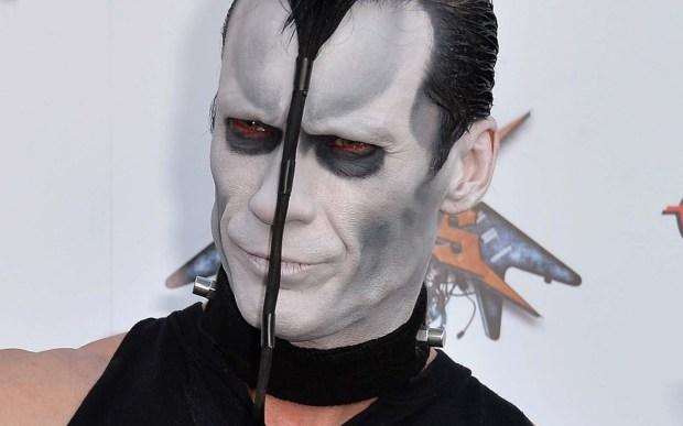 Guitarist Doyle Wolfgang von Frankenstein the horror punk band the Misfits is 52. (Getty Images: Frazer Harrison)