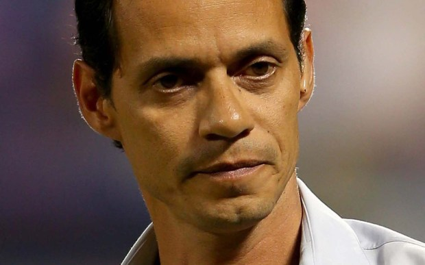 Grammy and Latin Grammy-winning salsero singer Marc Anthony is 48. (Getty Images: Mike Ehrmann)