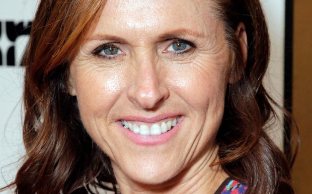"""Superstar"" comedian Molly Shannon is 52. Among her credits are the armpit-self-sniffing Mary Katherine Gallagher and other characters on ""Saturday Night Live"" and the TV sitcom ""Kath and Kim."" (Associated Press: Todd Williamson)"
