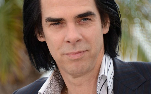 "Dark Aussie singer Nick Cave is 59. Hear him perform ""Into My Arms"" live here. (Getty Images: Michael Buckner)"