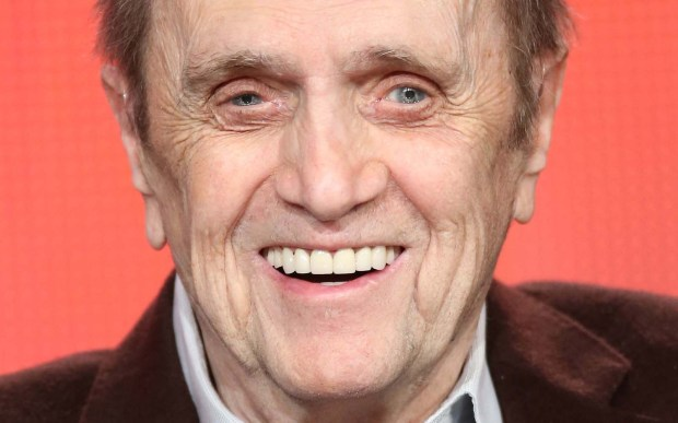 "Comic actor Bob Newhart — ""The Bob Newhart Show,"" ""Newhart,"" ""Elf"" — is 87. In his 2006 memoir, ""I Shouldn't Even Be Doing This,"" he discusses how he left his career as an accountant to go into comedy. So that's why he always looked like an accountant! (Getty Images: Frederick M. Brown)"