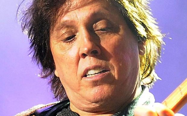 Guitarist John McFee of 1970s rock's Doobie Brothers is 66. So Listen to the Music. (Getty Images: Matt Roberts)