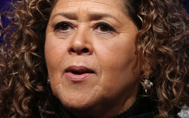 "Playwright and actress Anna Deavere Smith has won two Obie Awards, been nominated for the Pulitzer Prize and two Tonys and is a recipient of the prized MacArthur fellowship. She was President Bartlett's national security advisor in ""West Wing"" and she kills on Showtime's ""Nurse Jackie."" She's 66. (Getty Images: Frederick M. Brown)"