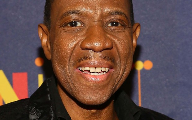 "Soul and R&B singer Freddie Jackson is 60. His songs have such subtle titles as ""Rock Me Tonight (For Old Times Sake)"" and ""Do Me Again."" (Getty Images: Astrid Stawiarz)"