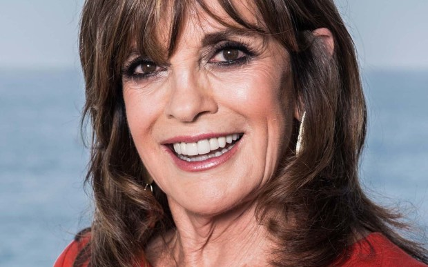 """Actress Linda Gray of """"Dallas"""" old and new is 76. (Getty Images: Francois Durand)"""