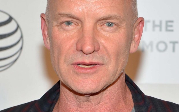 Musician and former Police man Sting is 65. (Getty Images: Slaven Vlasic)
