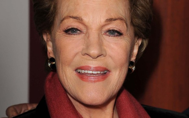 "Actress-singer Julie Andrews — beloved for her roles in ""Mary Poppins"" and ""The Sound of Music,"" and more recently ""Shrek"" and ""Dispicable Me"" — is 81. (Getty Images: Kevin Winter)"