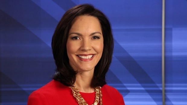 Amy Hockert, Fox 9 anchor and reporter. Courtesy KMSP-TV