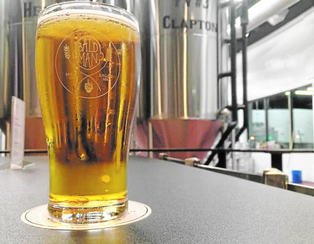 Bald Man Brewing's Young American Pale Ale (Pioneer Press: Jess Fleming)