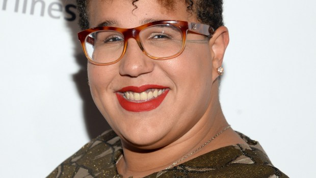 Vocalist Brittany Howard attends the 2015 Billboard Women in Music honors at Cipriani 42nd Street on Friday, Dec. 11, 2015, in New York. (Photo by Evan Agostini/Invision/AP)