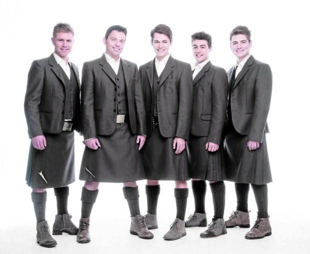 Celtic Thunder (Courtesy photo)