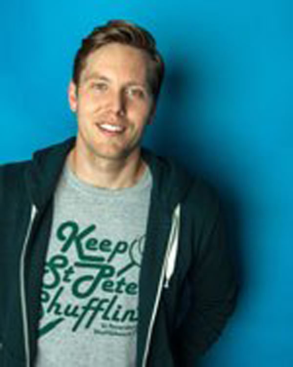 """Cy Amundson will be featured on Comedy Central's """"The Half Hour"""" on Friday, Sept. 16."""
