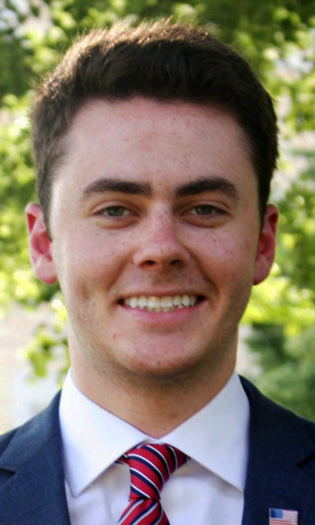 Undated courtesy photo, circa Sept. 2016, of Riley Horan of St. Paul, who is a candidate for Minnesota House of Representatives District 64A in the November 2016 election. (Courtesy photo)