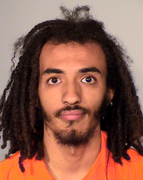 Elijah Dean-Menez Lartey, DOB 3/13/97, of St. Paul, was charged with four misdemeanors in connection to a Philando Castile protest in downtown St. Paul on Tuesday, Sept. 6, 2016. Photo courtesy of the Ramsey County Sheriff's Office.