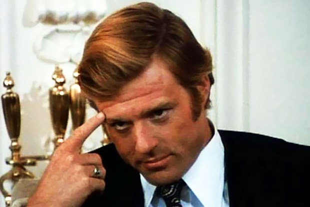 "Robert Redford in ""The Candidate"" (1972)."