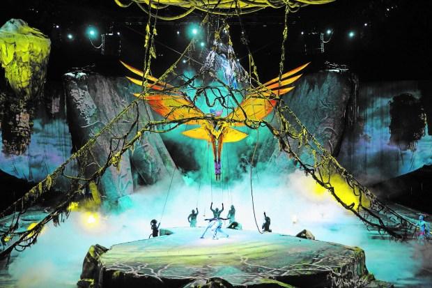 "Cirque du Soleil presents ""Toruk - The First Flight."" (Errisson Lawrence)"