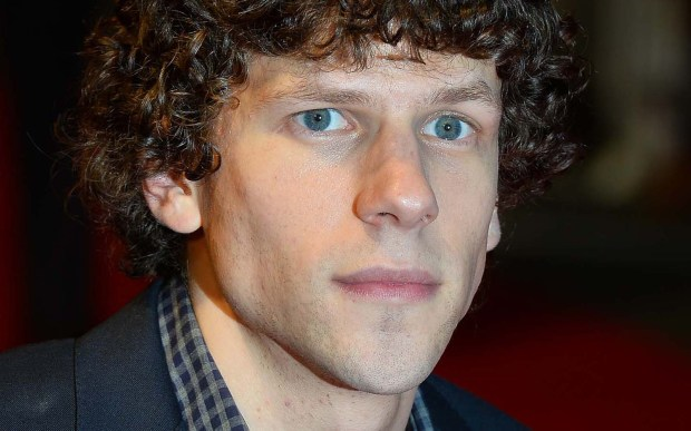 "Actor and writer Jesse Eisenberg — ""The Social Network,"" ""The End of the Tour"" — is 33. (Getty Images: Ben Stansall)"