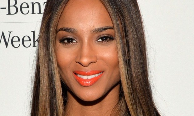 Singer Ciara is 28. (Photo by Mike Coppola/Getty Images for Mercedes-Benz)