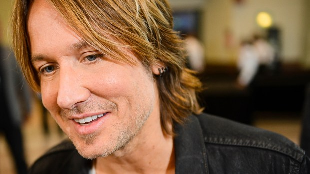 """American Idol"" judge Country singer Keith Urban is 48. Urban, aka Mr. Nicole Kidman, is shown at the Minneapolis Convention Center for ""Idol"" tryouts in September 2014. (Pioneer Press archives)"