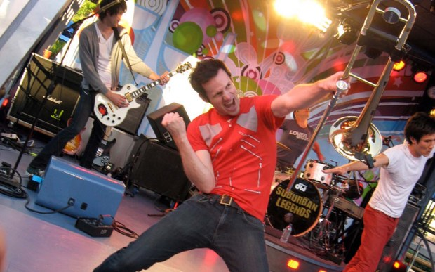 Trombonist Brian Roberts of the ska band Suburban Legends is 37. (Courtesy of wikipedia.org)